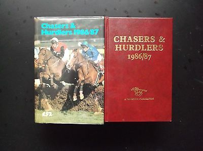 """Timeform """"chasers & Hurdlers"""" 1986/87 In A Protected Original Dust Jacket"""