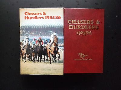 """Timeform """"chasers & Hurdlers"""" 1985/86 In A Protected Original Dust Jacket"""