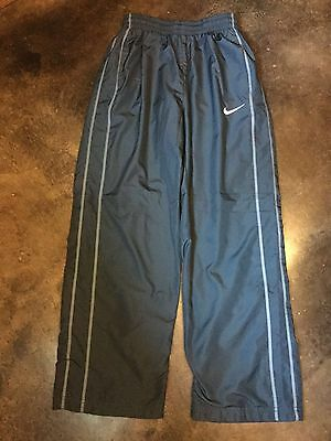 Nike Wind Pants Lined ~ Casual Athletic ~ Blue ~ Youth Large