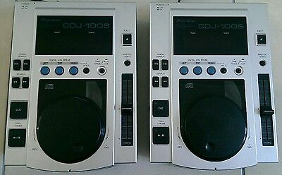 Pioneer DJ CD Player - Pair (2x CDJ-100S)