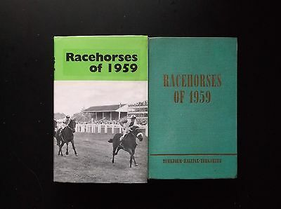 """Timeform """"racehorses Of 1959"""" Very Good In A Made Up Dust Jacket"""