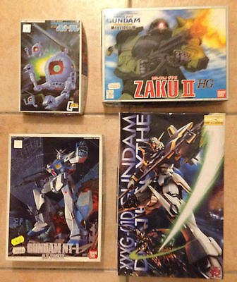 LOTTO 4 Bandai Gumpla Model Kit serie Gundam scala 1/144 - vedi lista