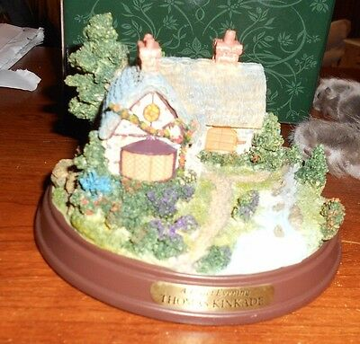 thomas kinkade a quiet evening lighted cottage collection jt4