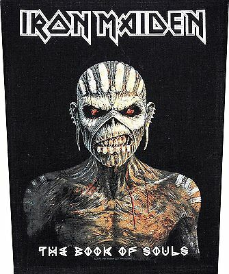 Iron Maiden BACK PATCH New Official Book of souls