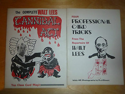 Four Professional Card Tricks and Cannibal Acts by Walt Lees