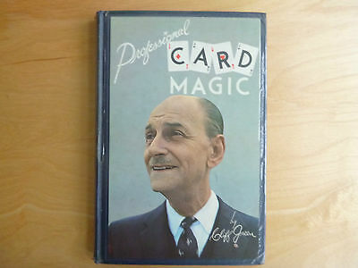 Professional Card Magic by Cliff Green first edition 1961