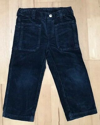 Il Gufo Boys Velvet Navy Trousers Age 3
