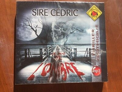 Le jeu de l'ombre de Sire Cédric, livre audio CD MP3, Thriller gothique blister