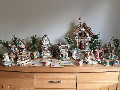 Large Joblot / Collection of Pendelfin, including exclusive pieces.  Rare Opport