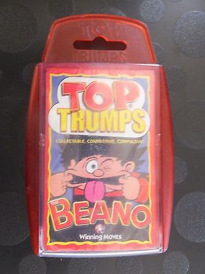 The Beano Top Trumps New Sealed Case Scuffed & Scratched