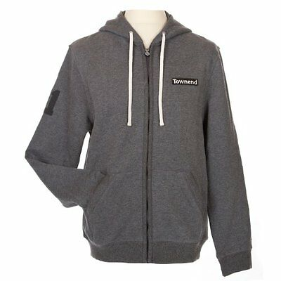Townend Stormin Ribbed Zip Hoodie - Charcoal - Small - Horse Hoods & Neck Covers