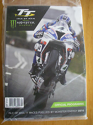 2016 Isle of Man TT races Official Programme, Race Guide & postcards - sealed