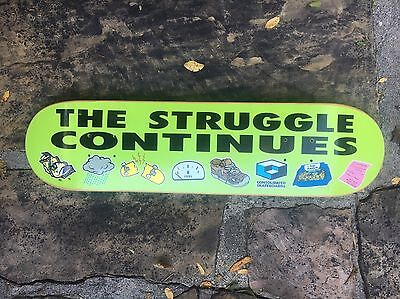 "Consolidated Skateboards "" The Struggle "" Todd Bratrud RARE!"