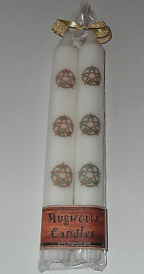 Pentacle Taper Candle 20 cm high, Wiccan, Pagan,spell, Wicca, Gift, Halloween