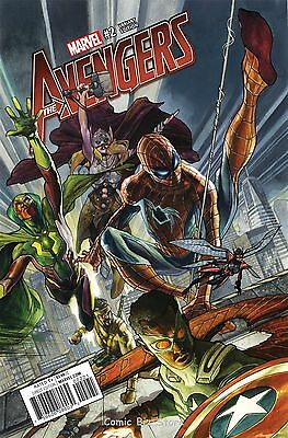Avengers #2 (2016) 1St Printing Scarce 1:25 Bianchi Variant Cover Marvel Now