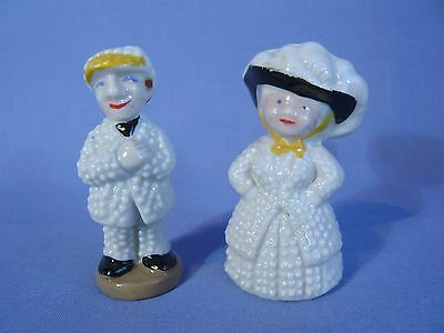 Wade Whimsies Pearly King & Pearly Queen