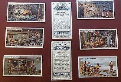 Mining Issued 1916 By Wills Set 50