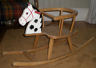 Lovely Vintage Toddler Rocking Horse Chair