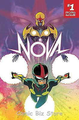 Nova #1 (2017) 1St Printing  Bagged & Boarded Marvel Now