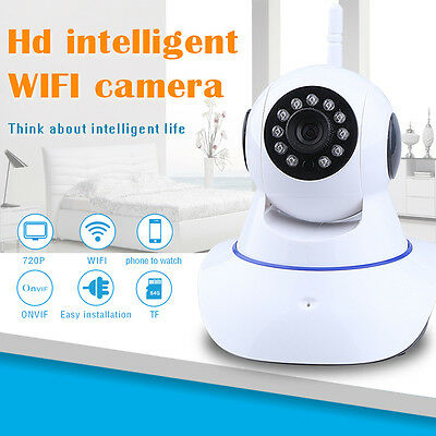 720P HD Home Wireless WiFi Network IP Camera Pet Baby Monitor Mition Dection