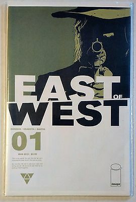 East of West #1 Image Hickman Dragotta NM 1st Printing