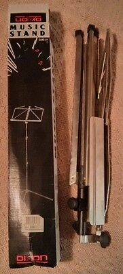 Dixon Music Stand Model GMS-31 NK Nickel Plated Orchestra Violin Trumpet Choir