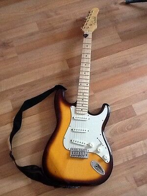 Gould Electric Guitar With Strap Hardly Used JUST REDUCED! Great Gift