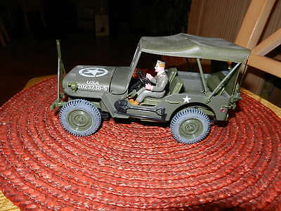 Solido Willys Jeep US Army 1942 green 1:18 Blech / Unbenutzt Standmodell