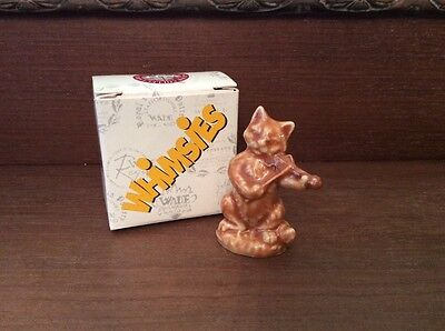 wade boxed nursery rhyme whimsie Cat and the Fiddle - new colourway