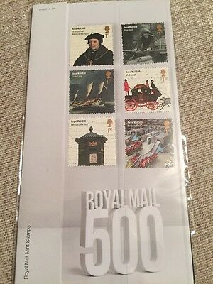 GB 2016 Royal Mail 500 unmounted mint stamp & miniature sheet presentation pack