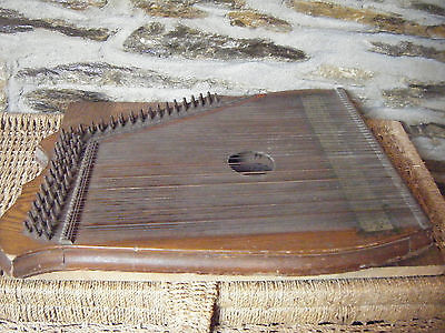 Vintage Piano Harp chord zither