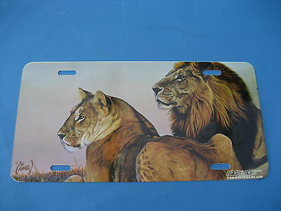 Lions Picture  Novelty Plate  (Pk10)