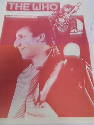 The Who 83 Fan Club Magazine Number 18 Sep 83