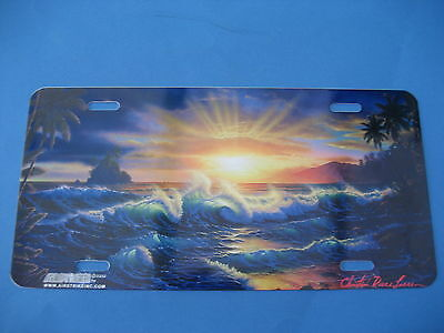 Ocean Sunset  Novelty Plate  (Pk155)