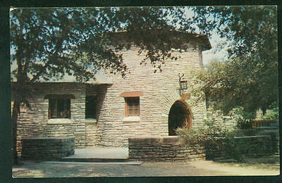 Rustic Stone Concessions Building Garner State Park Leakey Texas Postcard