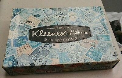"Kleenex Little Travelers tissue box The Gadsden Flag ""Dont Tread On Me"" 1976 NEW"
