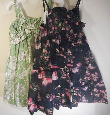 Lot of 2 Baby Gap Spring Summer Sleeveless Dresses Size 3