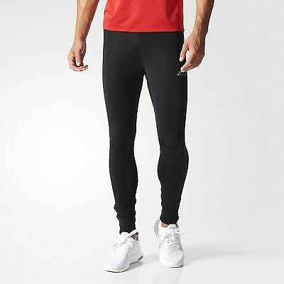 Adidas Men's Black Sequencials Climaheat Brushed Tights - LARGE - NEW RRP £65