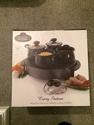UNUSED Giles and Posner curry station - IN ORIGINAL PACKAGING