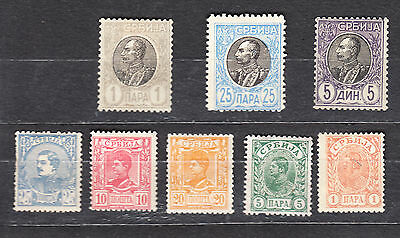 Serbia Early Mint Used Selection-2 Scans