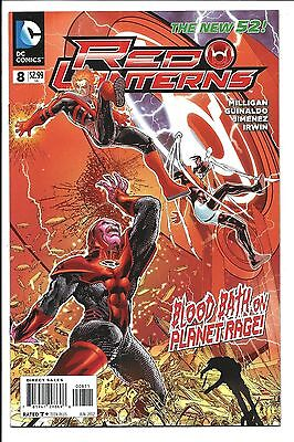 Red Lanterns #8: The New 52 (DC Comics)