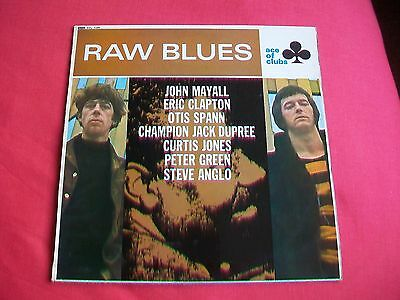 Raw Blues - Uk Lp Acl 1220 - 1967, Mayall, Clapton,spann,green - Ace Of Clubs