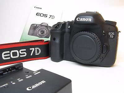 Canon EOS 7D 18 MP Digital SLR Camera -(Body Only) nicest used one on here