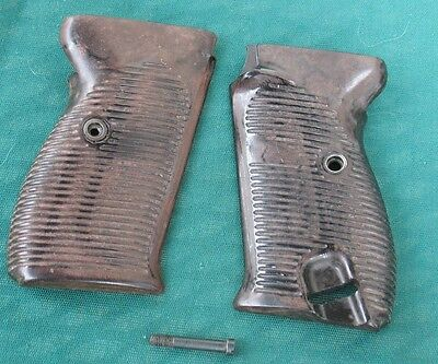 Original WWII Walther P38 Early Eagle 359 Grips