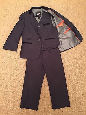 Boys' Next 3 Piece Grey Suit Age 3 Years