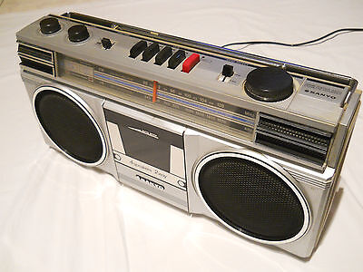 Sanyo M9805F Boombox (Vintage early 80s)