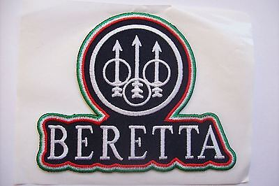 Clay pigeon , Beretta shooting , hunting , fishing  badge patch