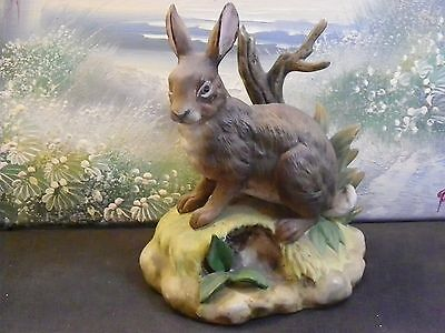 """6 Inch Brown Hare    """" Fine Porcelaine By Kowa"""""""