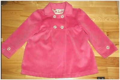 Girl 6-7 Marks and Spencer pink coat