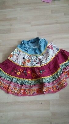 Girl's patchwork skirt age 5